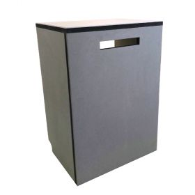 Electric counter stool for stands at fairs or exhibitions