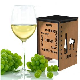 Stool Loire Valley and grape varieties, height 44 to 86 cm