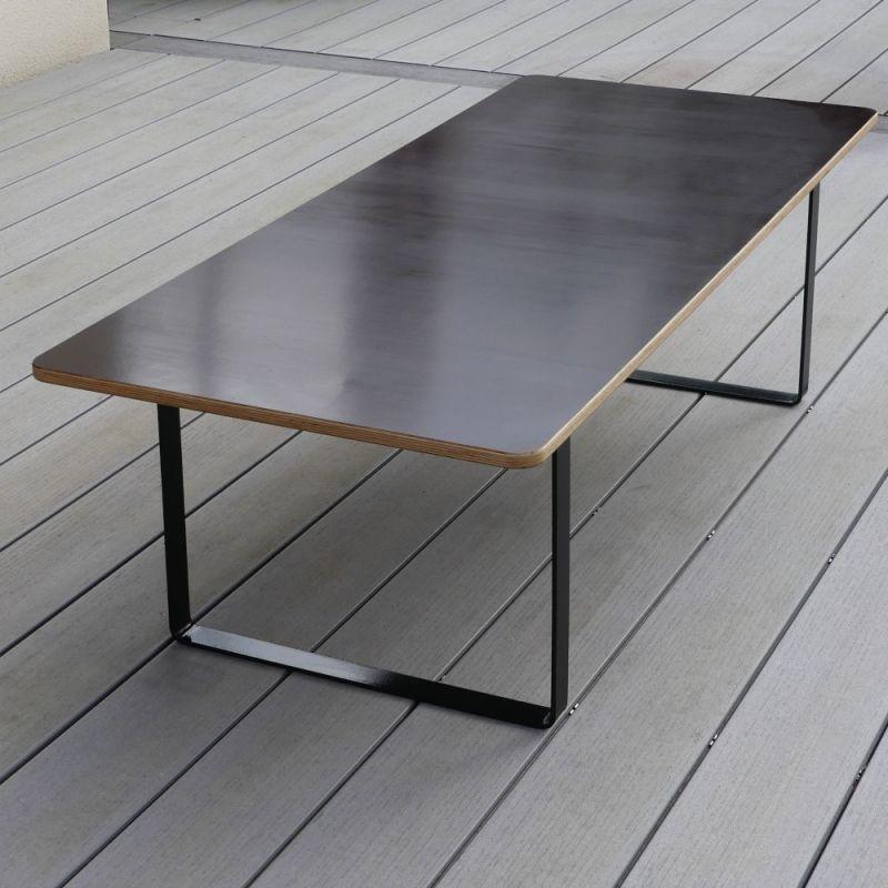 Table de jardin sur mesure Spacio, pour intérieur ou extérieur