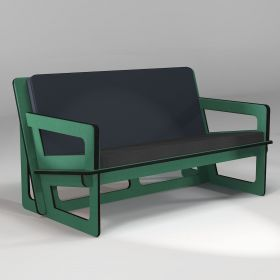 Mint green Sofa made to measure, for indoor and outdoor use