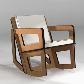 copy of Aero rocking chair made to measure Mon siège à moi - 3