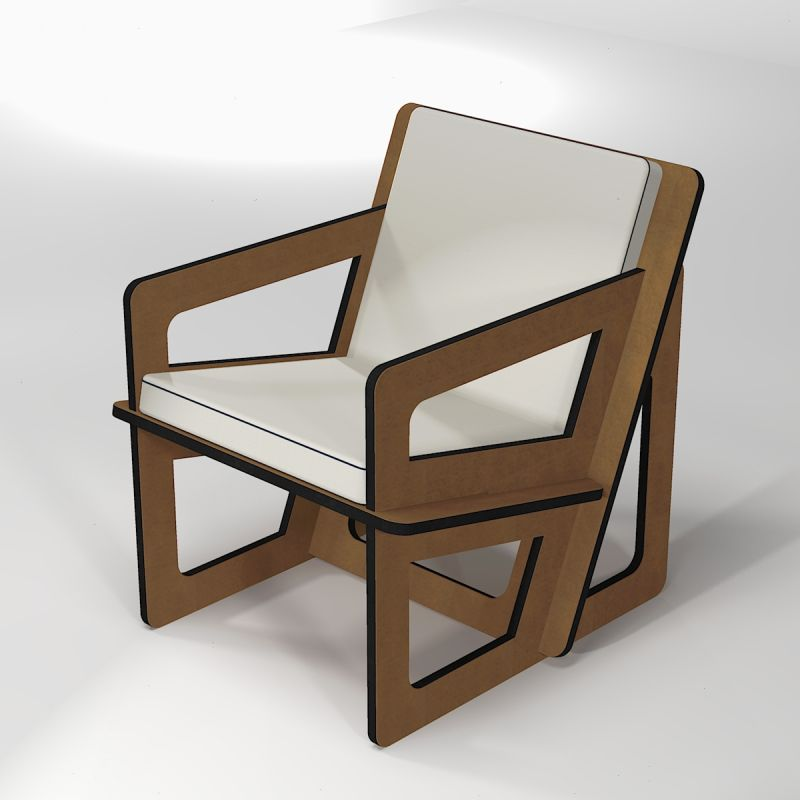 Backcare armchair made to measure