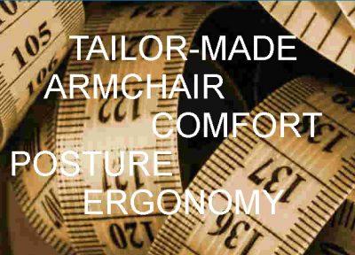 Tailor masde armchair