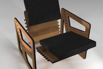 """""""Pointillé"""", une nouvelle gamme de fauteuils sur-mesure"""