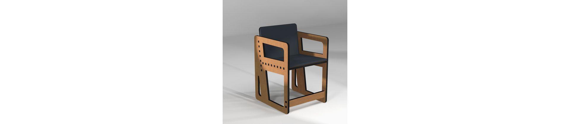 Chaise pour table ou bureau
