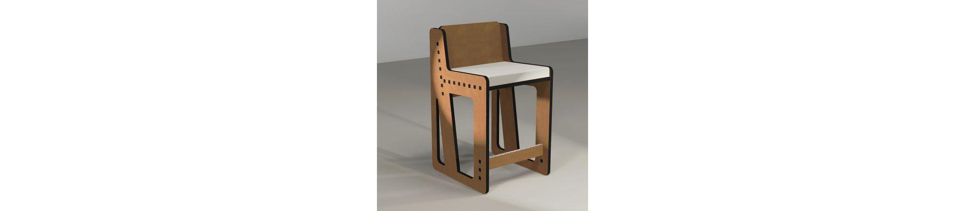 Chaise haute pour bar ou ilot