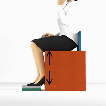 Comment mesurer la hauteur de l'assise d'un fauteuil