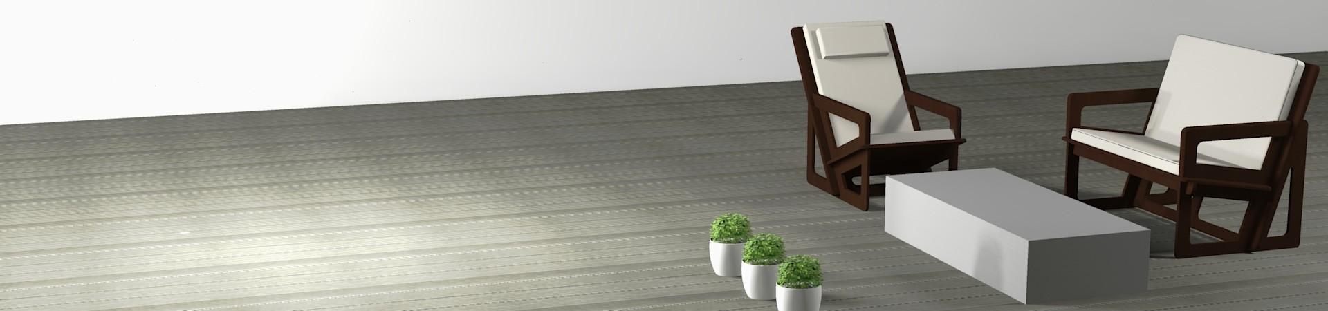 Made-to-measure garden furniture